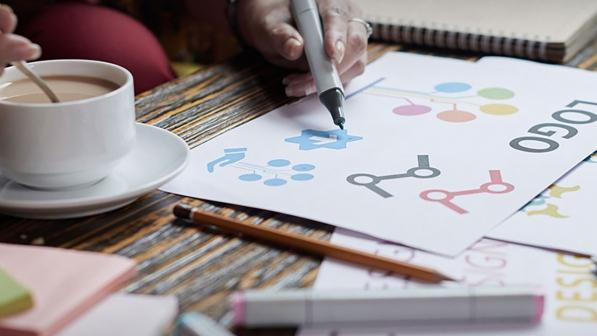 طراحی لوگو در همدان
